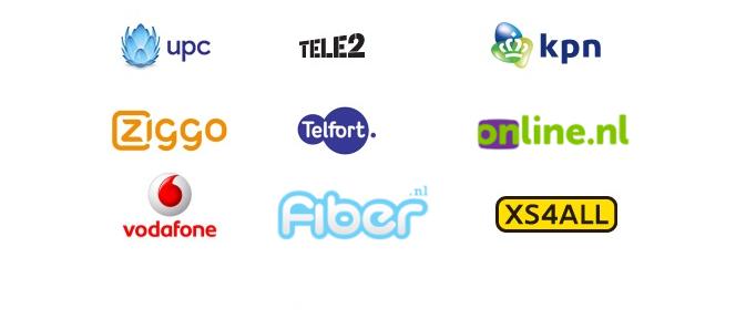 vergelijkallesin1pakketten met de beste providers kpn, t-mobile, telfort, Vodafone, upc, scarlet,xs4all,canal digitaal, tele2,fiber, online.nl
