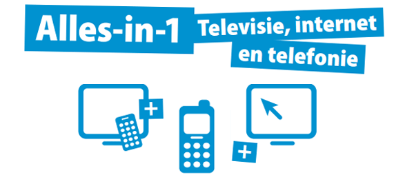 vergelijk alles in een pakketten, televisie, smartphone telecom en internet 4G en 5G